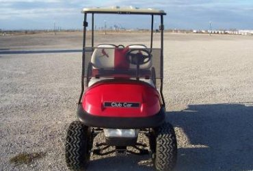 2010 Club Car Precedent – four Seater Gas Golf Cart