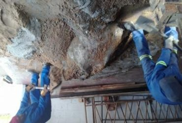 building and plastering