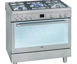 Defy 5 Burner Cream Gas Electric Range Cooker DGS162