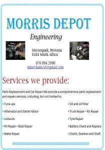 Diesel Repair / Service /Auto Electrical Mobile /Field /Fleet Services Mechanics & Technicians