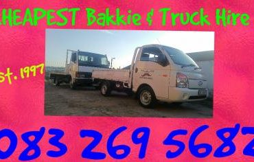 New Bakkies and 4 Ton Flat Bed Trucks available 24/7 WE WILL BEAT ANY PRICE!
