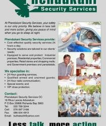 PHENDUKANI SECURITY SERVICES (PTY) LTD