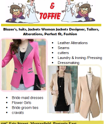 Tailoring alterations • Restyling alterations • Resizing alterations • Repairing alterations