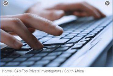 Top Private Investigators in south africa