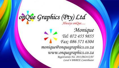 onQue Graphics
