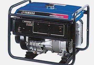 YAMAHA EF5200 FW GENERATOR
