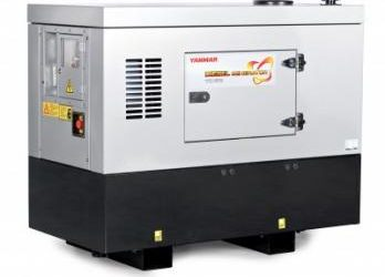YANMAR 10KVA SILENT 1-PHASE DIESEL GENERATOR – SOUND ATTENUATED CANOPY