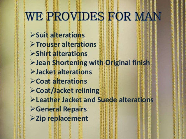 Clothing Alterations, Jackets, Suits , Dresses, Leather, Skirts , Jeans, Pants Alterations – dressmaking -wedding dress