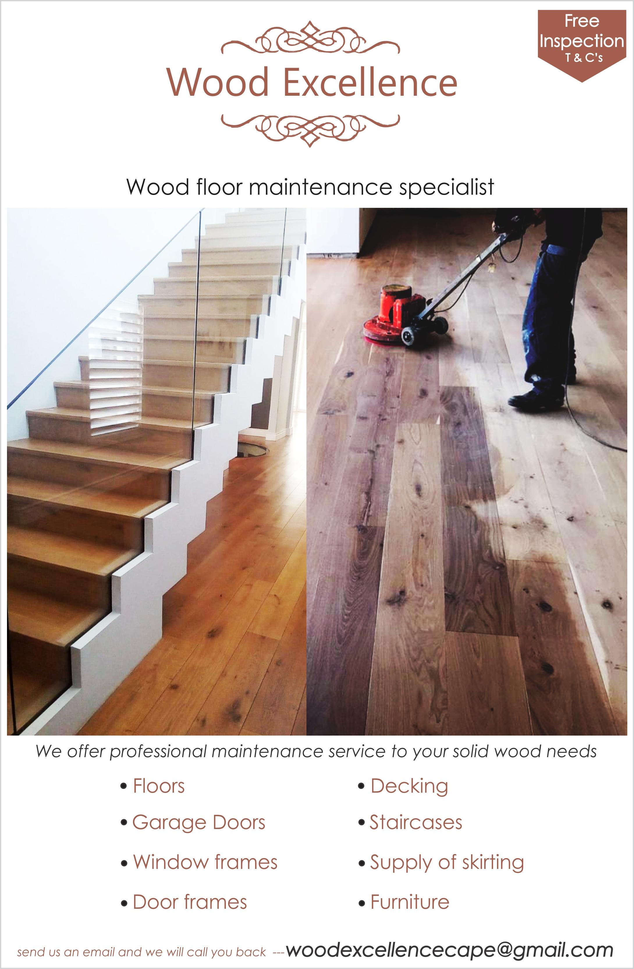 Wood floor maintenance specialist
