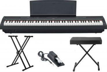 Yamaha P-115B 88-Key Graded Hammer Digital Piano