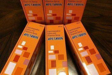 weight gain supplement Apetamin syrup