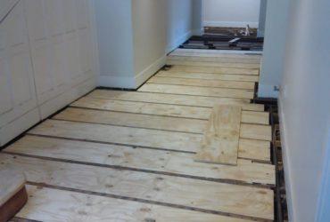 Laminated wooden flooring & Decking