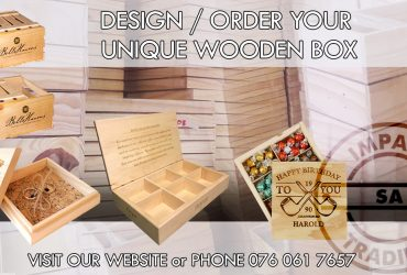 We Build and Sell Wooden Boxes. Standard or Custom