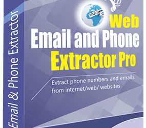 Web Email and Extractor Software