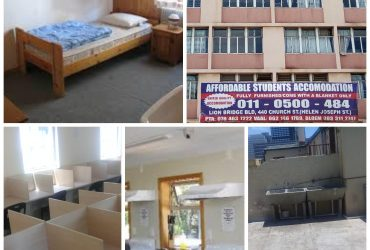 STUDENT ACCOMMODATION IN PRETORIA (ARCADIA) NO DEPOSIT
