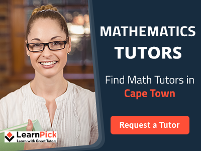 Learn from the best Mathematics teachers in Cape Town
