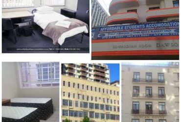 Student Accommodation in the Johannesburg CBD and Braamfontein No Deposit