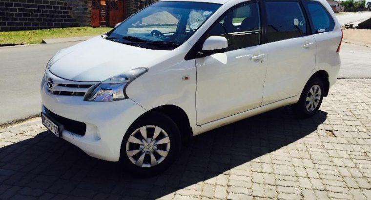 Toyota Avanza 1.3 RX (2012)