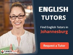 Find The Best English Tutors in Johannesburg