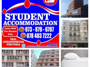 Student Accommodation In JHB, Pta & Vaal for 2020