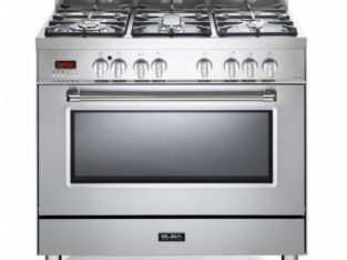 Elba Stainless Steel 90cm Gas / Electric Cooker