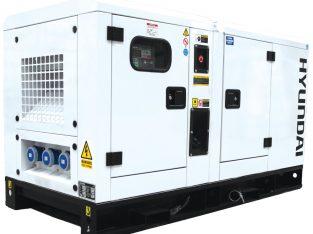 Hyundai 22kVA 3-Phase DHY22KSE Silent Diesel Gen.