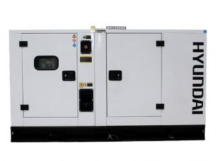 Hyundai 28kVA 3-Phase Silent Diesel Generator