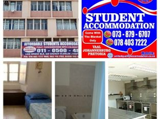 STUDENT ACCOMMODATION IN PRETORIA (ARCADIA) NO DEP