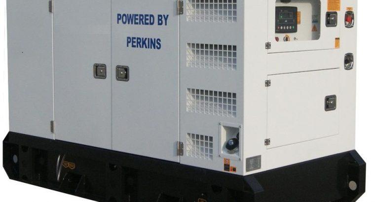 PERKINS 25KVA SILENT 3-PHASE ATS DIESEL GENERATOR