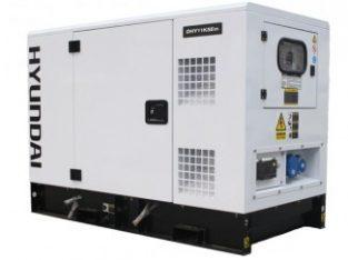 Hyundai 14kVA Silent Diesel Generator Single Phase