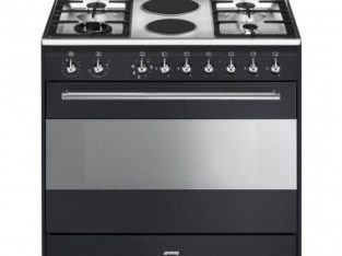 Smeg 90cm Anthracite Concert Cooker – SSA92MAA9