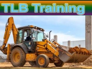 TLB 777 dump truck front end loader training
