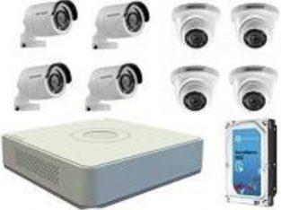 CCTV SYSTEM – HD 1MP 8 channel