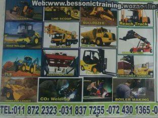welding cranes excavator grader trainings(07825910