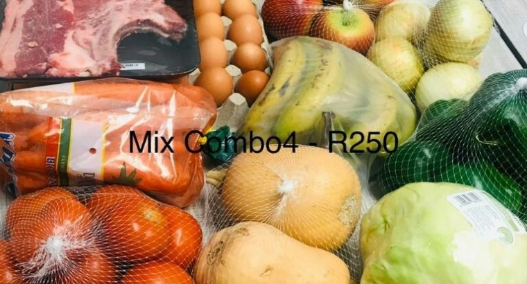 Vegetables,Fruits and Meat