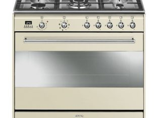 Smeg 90cm Vintage Cream Concert Cooker – SSA91MAP9