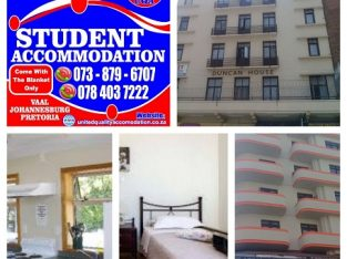 Student Accommodation in Johannesburg for Yr 2020