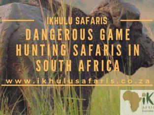 Dangerous Game Hunting Safaris in South Africa