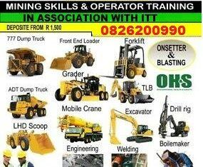 Excavator Operator Training @Laeveld 0826200990