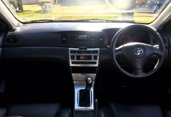 '03 Toyota RunX 1.8 RSi