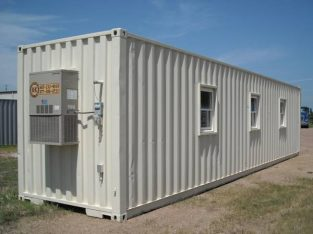 12″METER (40 FOOT) OFFICE CONTAINERS