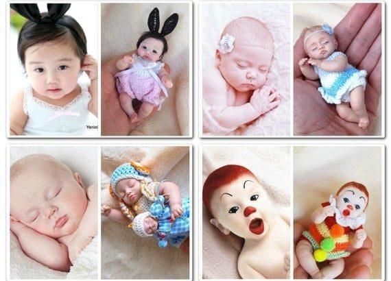 Custom Ooak Handcrafted Polymer Dolls