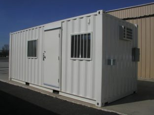 6″ METER (20FOOT) PORTABLE OFFICE CONTAINERS