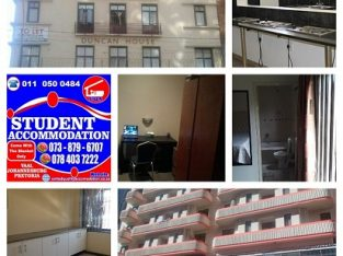 Student Accommodation in Johannesburg for Nxt Year