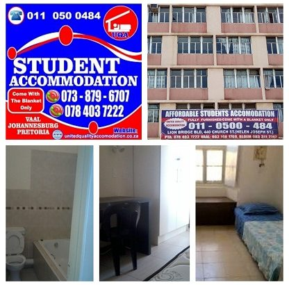 STUDENT ACCOMMODATION IN PRETORIA For Nx Year 2020