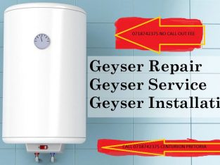 Geyser repairs centurion tripping power no call ou