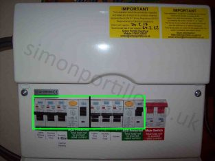 Fuse board Power trips Centurion electricians no c