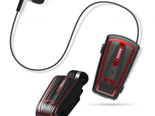 Remax Clip-On Bluetooth Headset RB-T12 Red