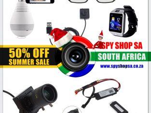 Cyber December Deals at Spy Shop SA