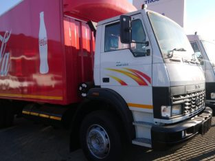 2020 Tata 1518 8 Ton Tautliner Body (Red)